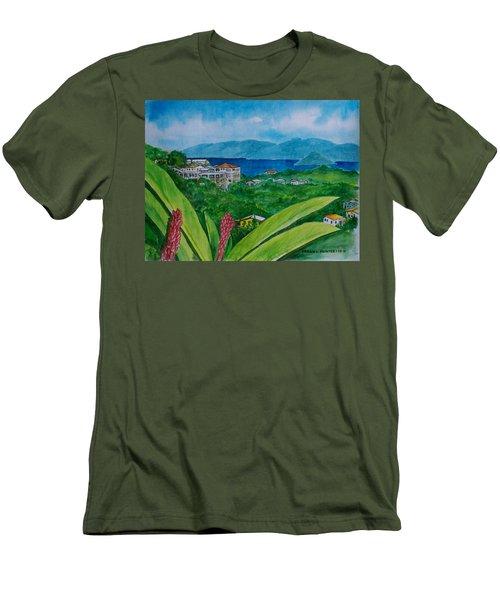 St. Thomas Virgin Islands Men's T-Shirt (Slim Fit) by Frank Hunter