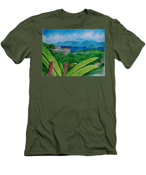 St. Thomas Virgin Islands Men's T-Shirt (Athletic Fit)