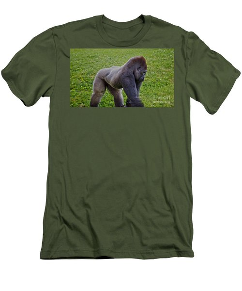 Stand Off Men's T-Shirt (Athletic Fit)