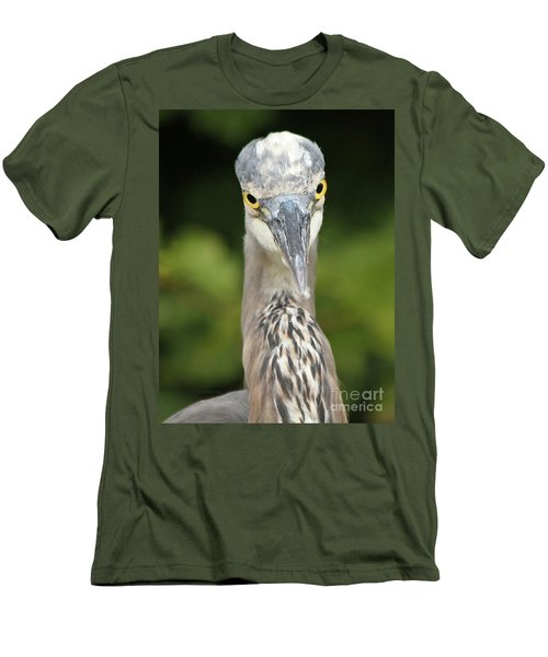 Staredown Men's T-Shirt (Slim Fit) by Heather King