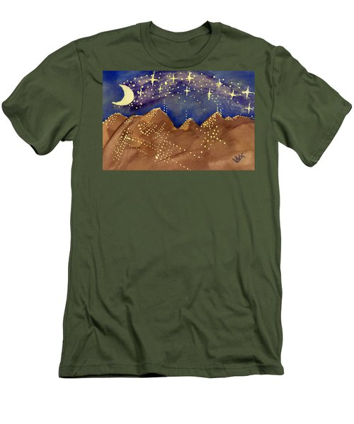 Stars Of Heaven And Earth Men's T-Shirt (Athletic Fit)