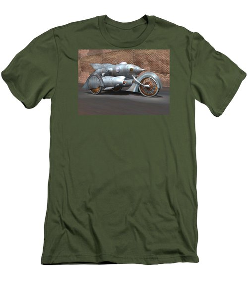 Steam Turbine Cycle Men's T-Shirt (Athletic Fit)