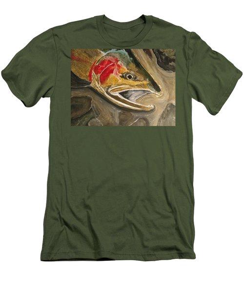 Steelhead Buck Men's T-Shirt (Athletic Fit)