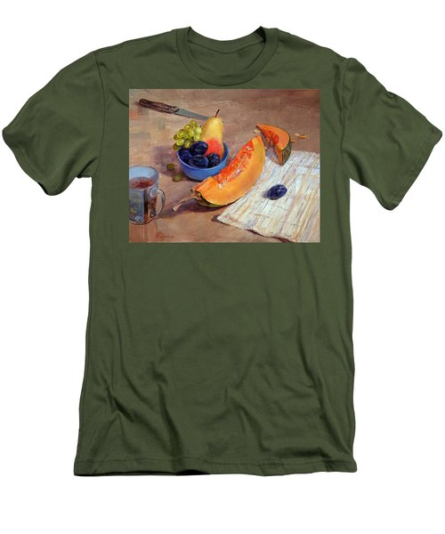 Still Life With Pumpkin Men's T-Shirt (Athletic Fit)