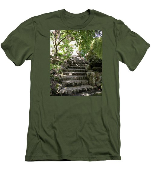 Stone Steps Men's T-Shirt (Athletic Fit)