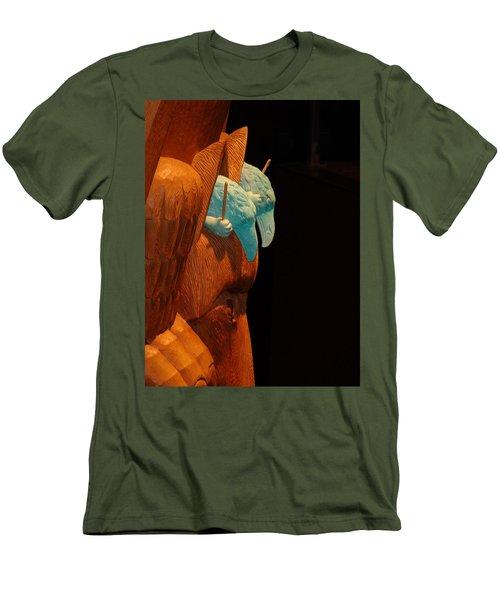 Story Pole Men's T-Shirt (Athletic Fit)