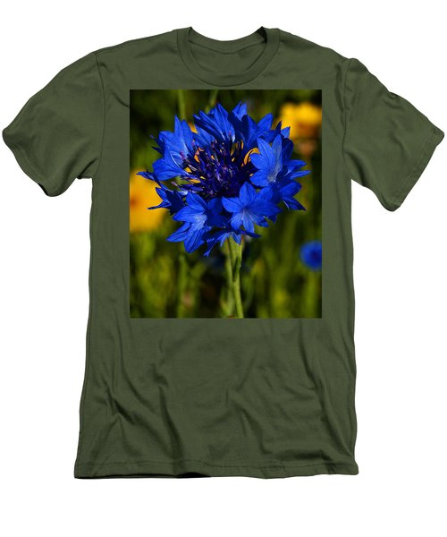Straw Flower Men's T-Shirt (Athletic Fit)