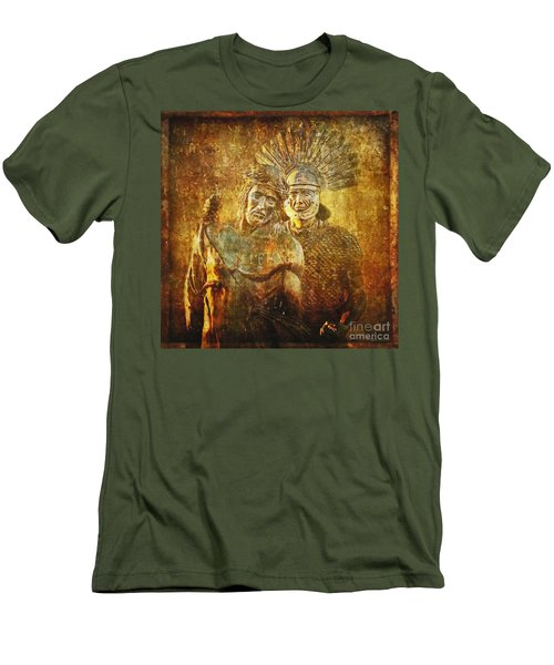 Stripped Of His Garments Via Dolorosa 10 Men's T-Shirt (Athletic Fit)
