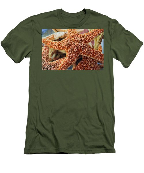Study Of A Starfish Men's T-Shirt (Athletic Fit)