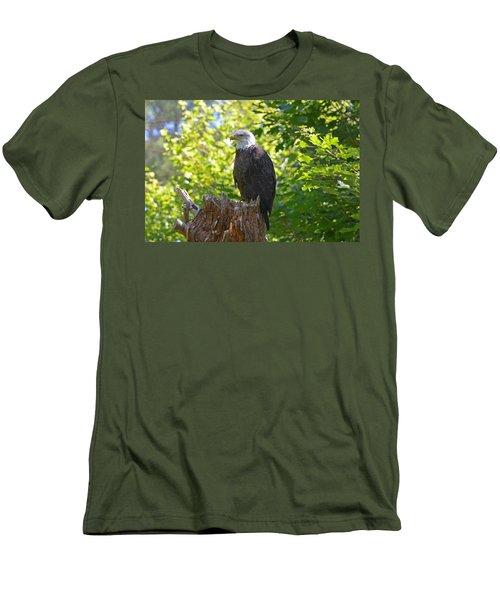 Men's T-Shirt (Slim Fit) featuring the photograph Stumped by David Porteus