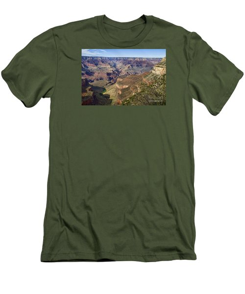 Natures Layer Cake Men's T-Shirt (Athletic Fit)