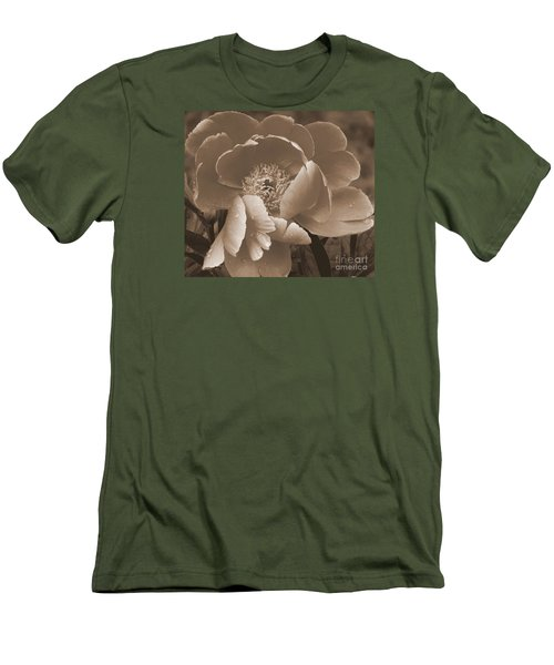 Subdued  Men's T-Shirt (Slim Fit) by Eunice Miller