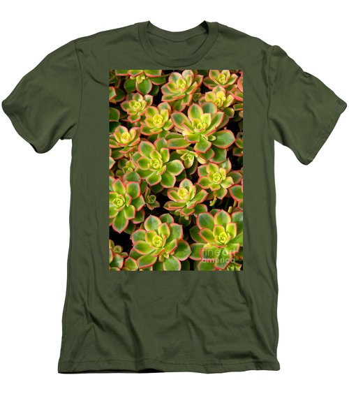 Succulent Glow Men's T-Shirt (Athletic Fit)