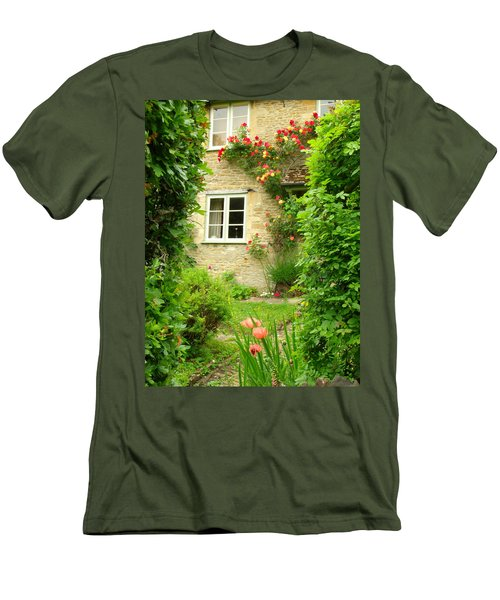 Summer Cottage Men's T-Shirt (Athletic Fit)