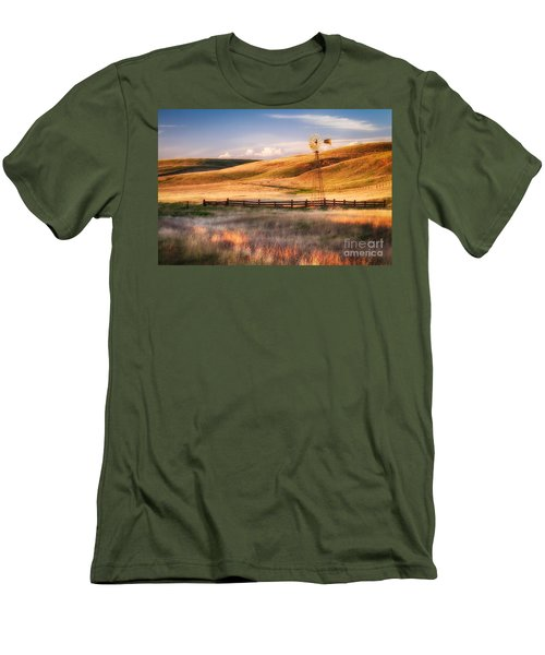 Summer Glow Men's T-Shirt (Athletic Fit)