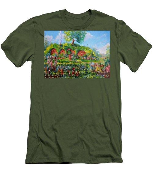 Summer In The Shire Men's T-Shirt (Slim Fit) by Joe  Gilronan