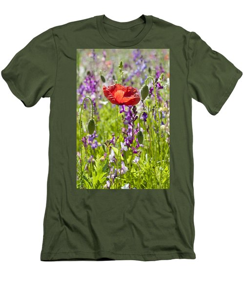 Men's T-Shirt (Slim Fit) featuring the photograph Summer by Lana Enderle