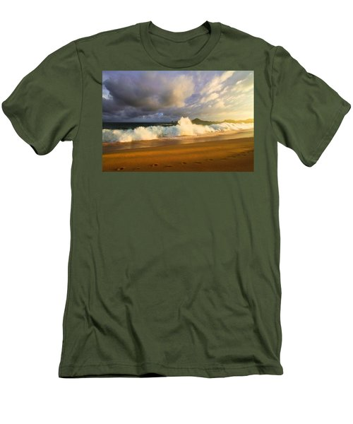 Men's T-Shirt (Slim Fit) featuring the photograph Summer Storm by Eti Reid