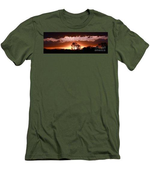 Summer Sunset Men's T-Shirt (Slim Fit) by Steven Reed