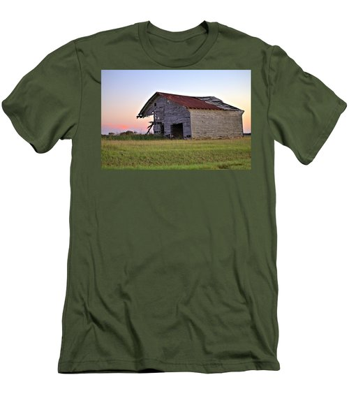 Men's T-Shirt (Slim Fit) featuring the photograph Sun Slowly Sets by Gordon Elwell