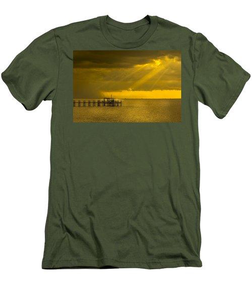 Sunbeams Of Hope Men's T-Shirt (Slim Fit) by Marvin Spates