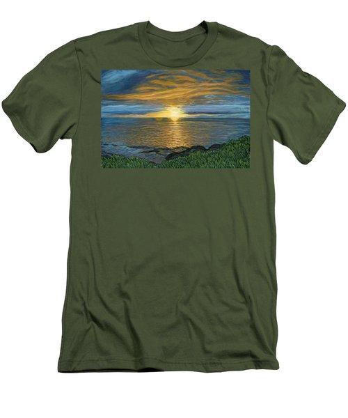 Sunset At Paradise Cove Men's T-Shirt (Athletic Fit)