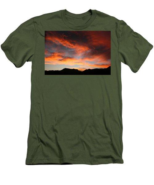 Sunset Over Estes Park Men's T-Shirt (Athletic Fit)