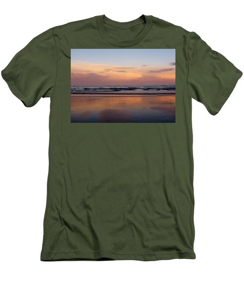 Sunset Over Long Sands Beach II Men's T-Shirt (Athletic Fit)