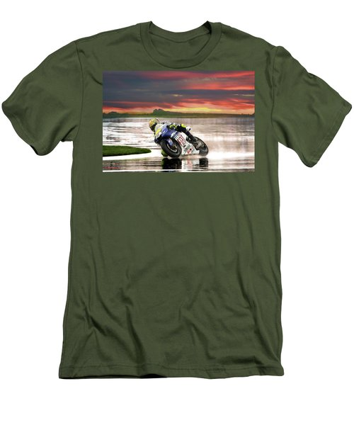 Sunset Rossi Men's T-Shirt (Athletic Fit)