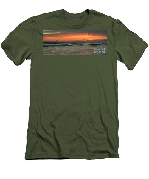 Men's T-Shirt (Slim Fit) featuring the photograph Carlsbad Starburst by John F Tsumas