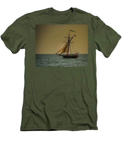 Sunset Voyage Men's T-Shirt (Athletic Fit)