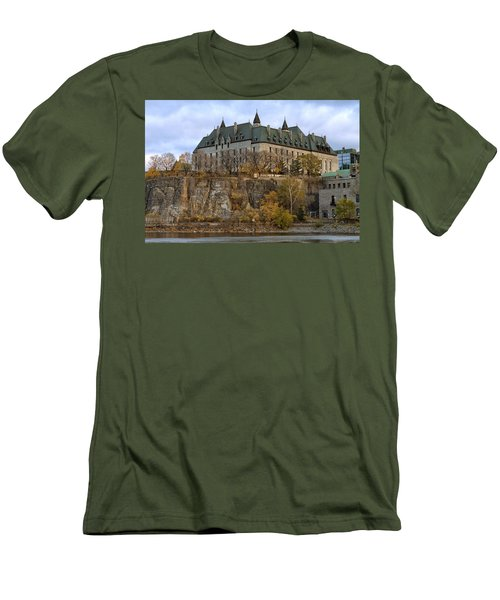 Men's T-Shirt (Slim Fit) featuring the photograph Supreme Court by Eunice Gibb