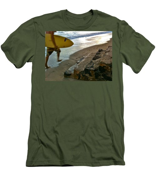 Surfer In Motion Men's T-Shirt (Athletic Fit)