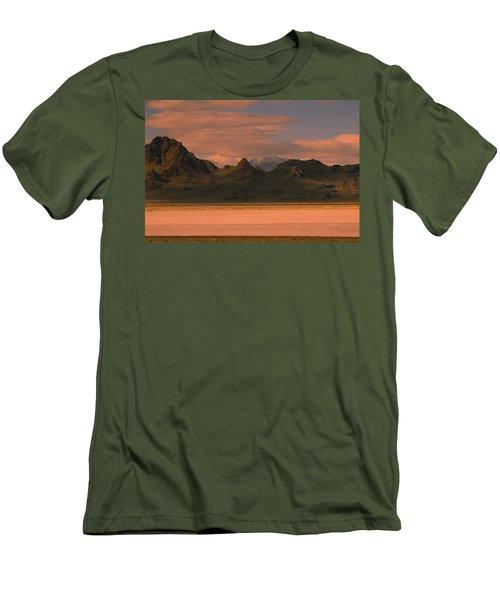 Surreal Mountains In Utah #4 Men's T-Shirt (Athletic Fit)