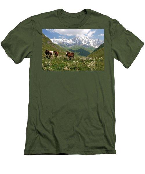 Svaneti  Men's T-Shirt (Athletic Fit)