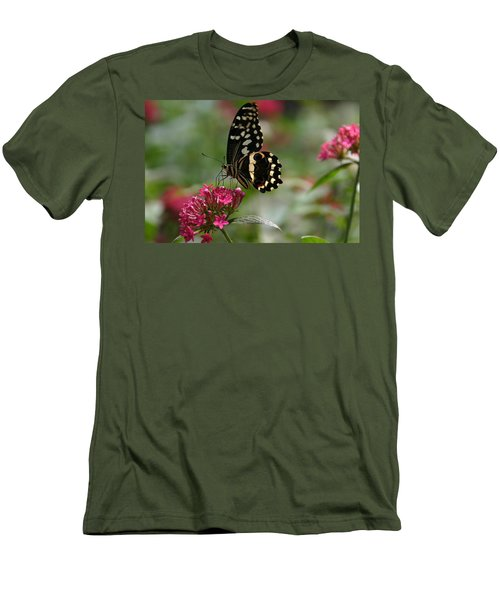 Men's T-Shirt (Slim Fit) featuring the photograph Sweet Nectar by Denyse Duhaime
