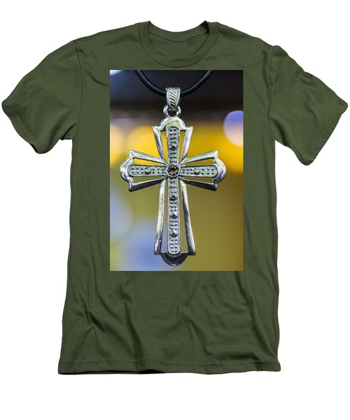 Symbol Of Faith Men's T-Shirt (Athletic Fit)