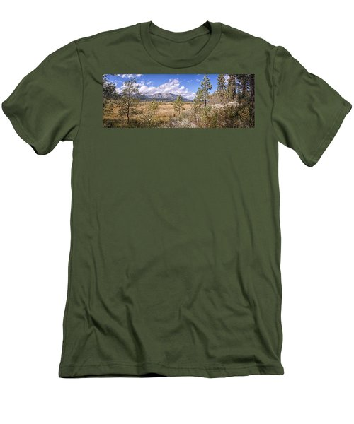 Men's T-Shirt (Slim Fit) featuring the photograph Taylor Creek Panorama by Jim Thompson
