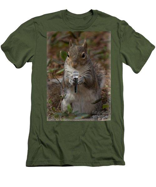 The Acorn's  Singer Men's T-Shirt (Athletic Fit)