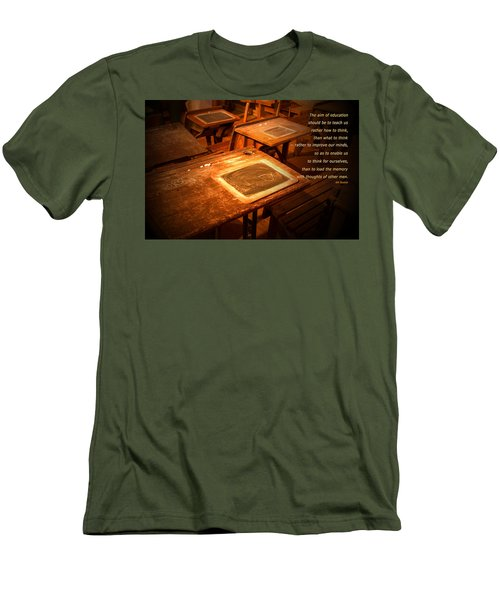 The Aim Of Education Men's T-Shirt (Athletic Fit)