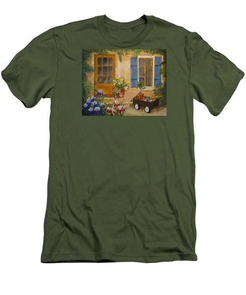 The Back Door Men's T-Shirt (Athletic Fit)