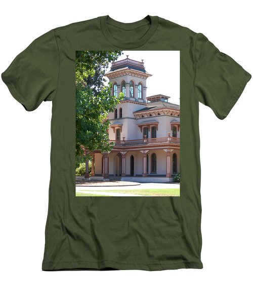 The Bidwell Mansion Men's T-Shirt (Athletic Fit)