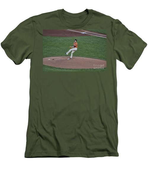 The Big Pitcher Men's T-Shirt (Athletic Fit)