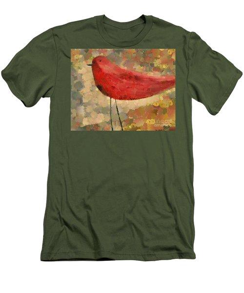 The Bird - K04d Men's T-Shirt (Athletic Fit)