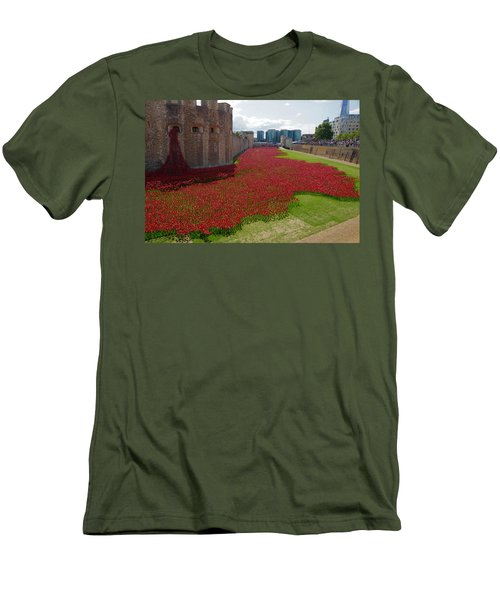 The Bloody Tower Men's T-Shirt (Athletic Fit)