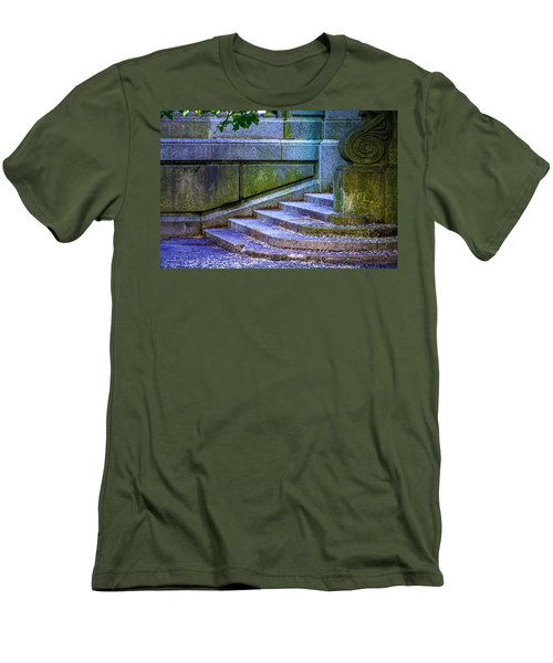 The Blue Stairs Men's T-Shirt (Athletic Fit)