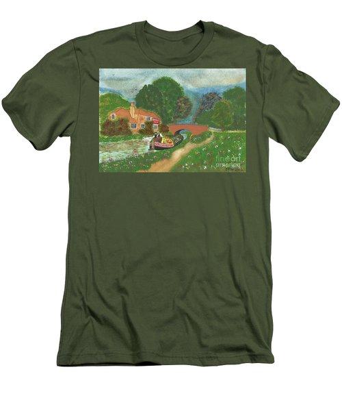 The Bridge Inn Men's T-Shirt (Athletic Fit)