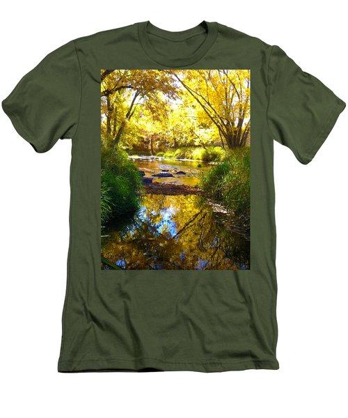 The Calm Side Men's T-Shirt (Slim Fit) by Tiffany Erdman