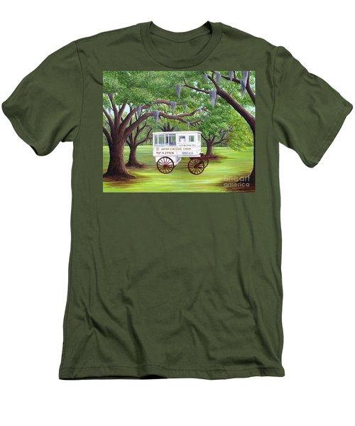 The Candy Cart Men's T-Shirt (Athletic Fit)