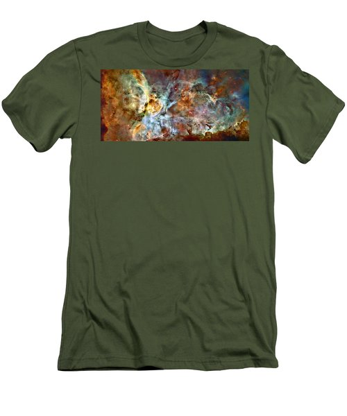 The Carina Nebula Men's T-Shirt (Athletic Fit)